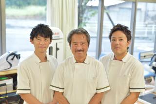 3名の理学療法士の体制